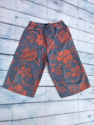 Mini Boden blue and red hawaiian print shorts age 8 (fit age 7-8)